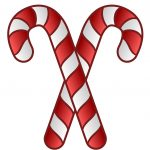 Free Candy Cane Template Printables Clip Art   Cliparting   Free Candy Cane Template Printable