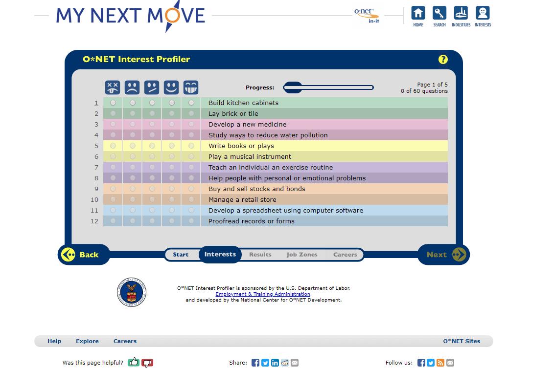 Free Career Aptitude And Career Assessment Tests - Free Printable Aptitude Test
