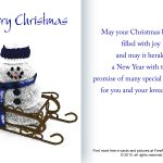 Free Christmas And Holiday Cards And Pictures   Free Online Printable Christmas Cards