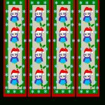 Free Christmas Bookmark Cliparts, Download Free Clip Art, Free Clip – Free Printable Bookmarks For Christmas