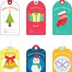 Free Christmas Gift Tag Templates   Editable & Printable   Free Printable Gift Tags Personalized