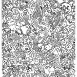 Free Coloring Page Coloring Doodle Art Doodling 15. Funny Doodle Art   Free Printable Doodle Art Coloring Pages
