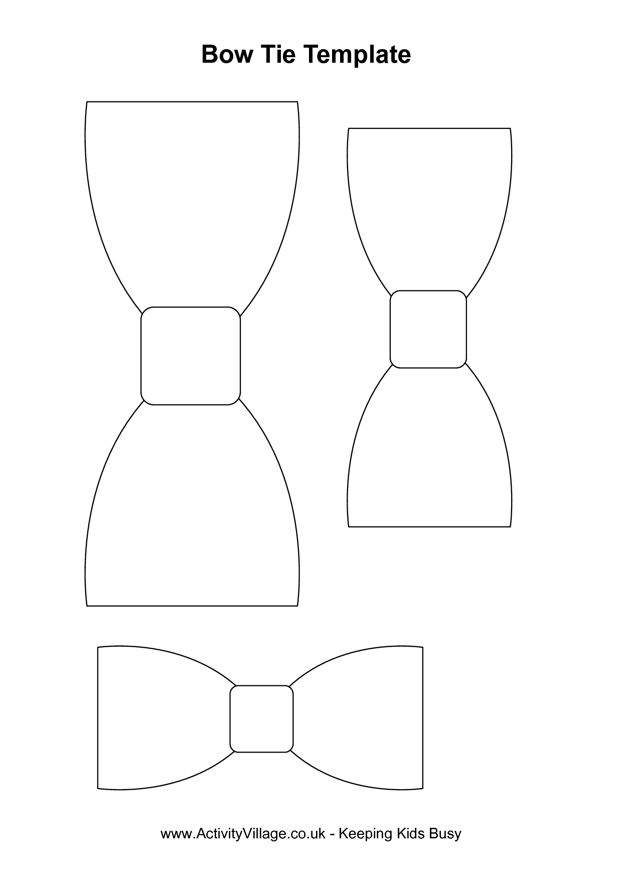 Free Coloring Pages | Mad Scientist Party In 2019 | Baby Shower - Free Bow Tie Template Printable
