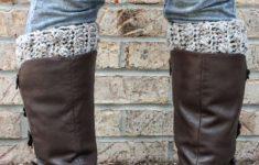 Free Crochet Boot Cuff Pattern – How To Crochet Boot Cuffs – Free Printable Crochet Patterns For Boot Cuffs
