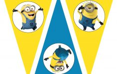 Free Despicable Me Party Printables, Birthday Party Theme, Free – Free Printable Minion Food Labels
