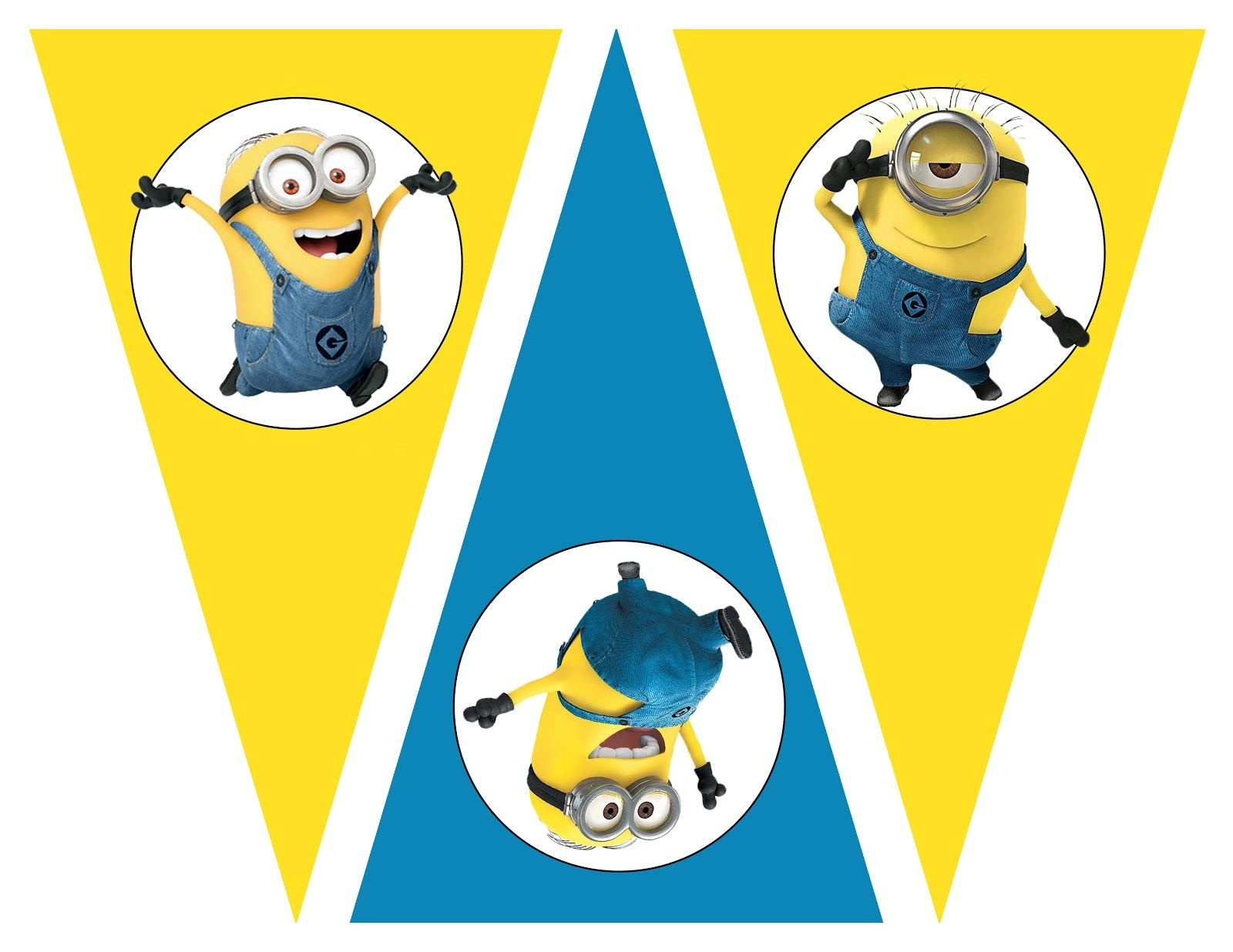 Free Despicable Me Party Printables, Birthday Party Theme, Free - Free Printable Minion Food Labels