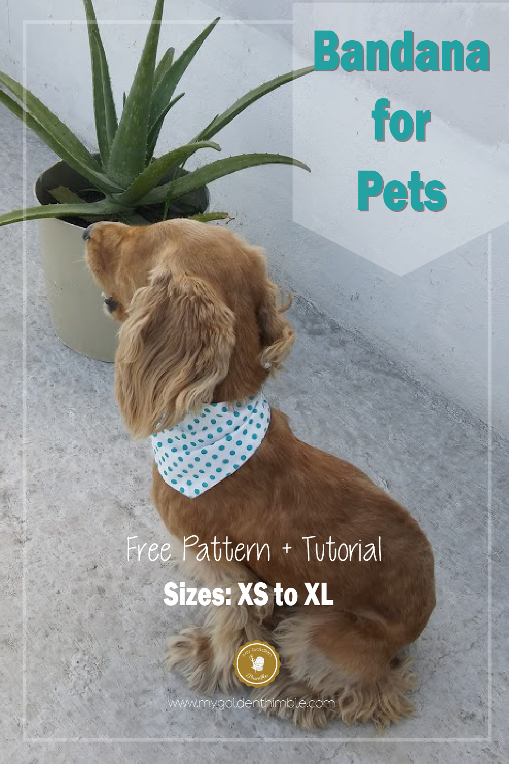 Free Dog Bandana Pattern Diy: For All Sizes! | Crafty | Sewing - Free Printable Sewing Patterns For Dog Clothes