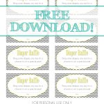 Free Download   Baby Diaper Raffle Template | Baaby Shower | Baby   Free Printable Diaper Raffle Ticket Template