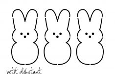 Free Easter Bunny Templates Printables – Hd Easter Images – Free Printable Bunny Templates