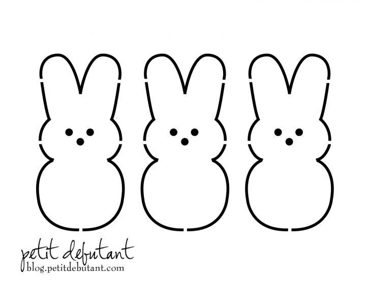 Free Printable Bunny Templates