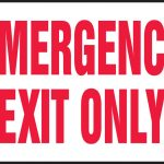 Free Emergency Exit Signs, Download Free Clip Art, Free Clip Art On   Free Printable No Exit Signs