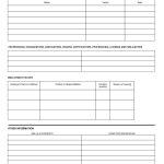 Free Employment Applications To Print | Job Application Form Sample   Free Printable Job Application Form Pdf