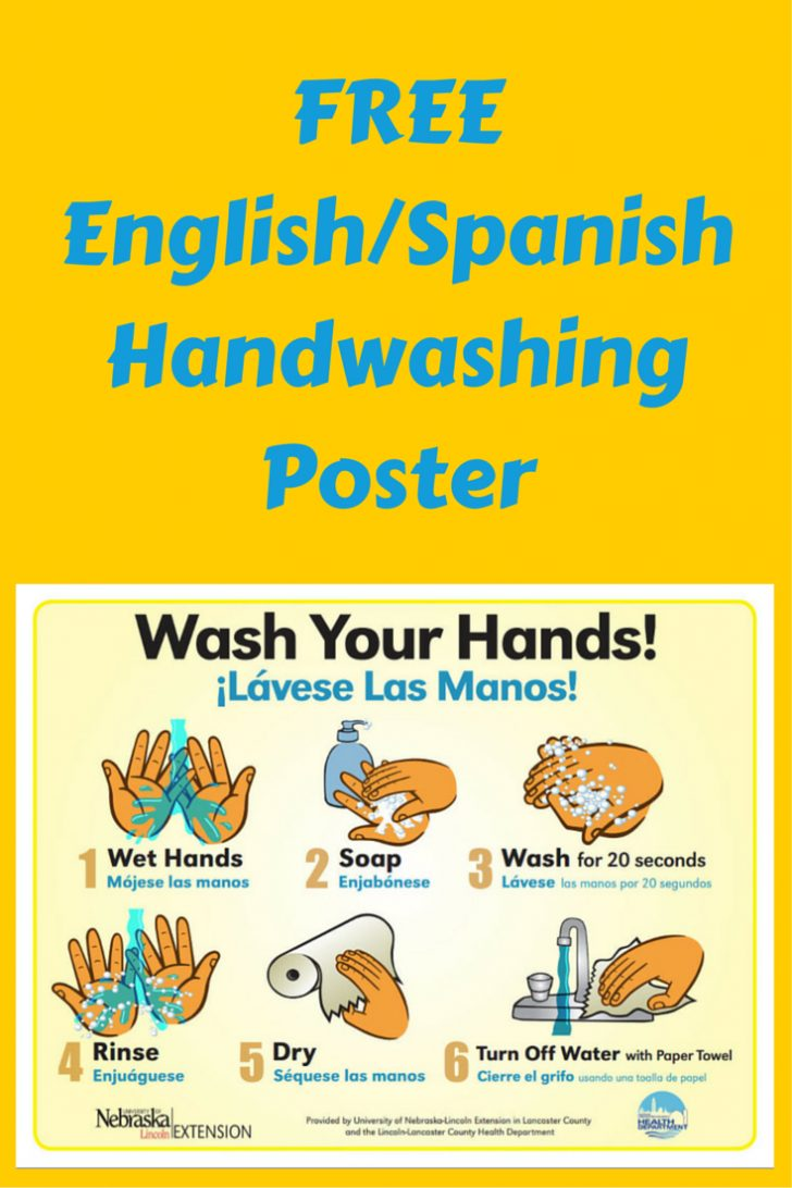 Free Printable Hand Washing Posters