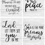 Free Farmhouse Scripture Printables   The Mountain View Cottage   Free Printable Scripture Verses