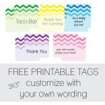 Free Favor Tags For Parties | Cutestbabyshowers   Free Printable Thank You Tags For Birthdays
