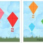 Free File Folder Game For Preschoolers: Kites!   The Measured Mom   Free Printable File Folders For Preschoolers