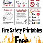 Free Fire Safety Posters With A Lego® Theme | Drp Firefighters   Free Printable Preschool Posters
