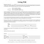 Free Florida Living Will Form   Pdf | Eforms – Free Fillable Forms   Free Printable Last Will And Testament Blank Forms
