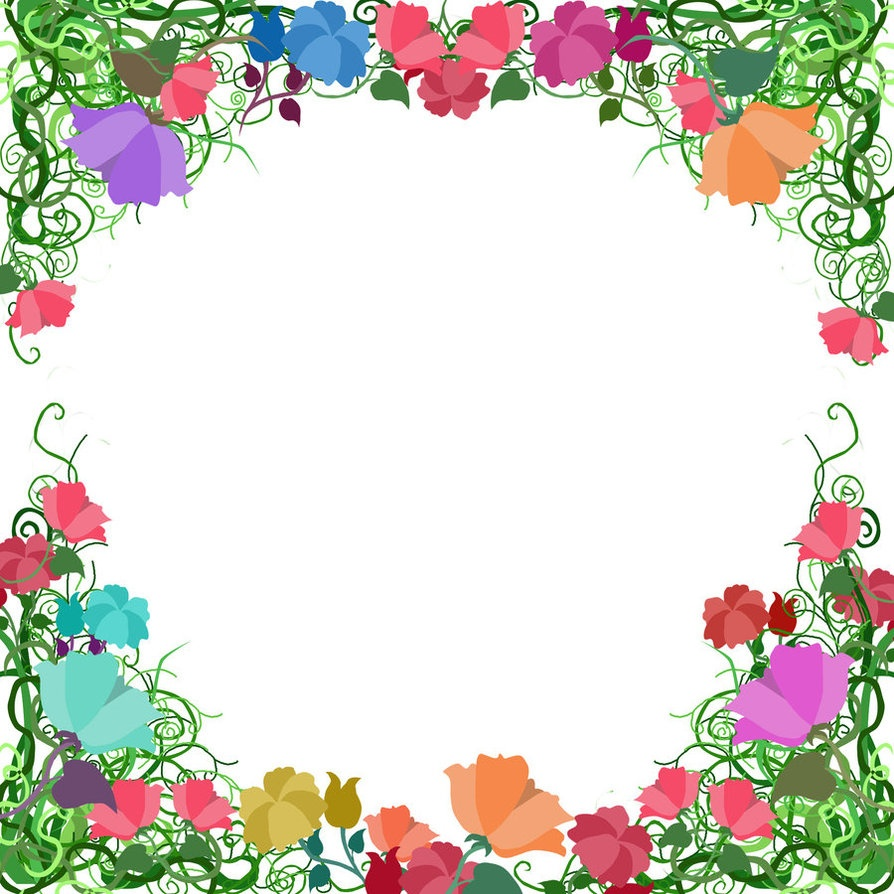 Free Free Printable Floral Borders And Frames, Download Free Clip - Free Printable Clipart Of Flowers