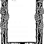 Free Free Printable Floral Borders And Frames, Download Free Clip   Free Printable Photo Frames