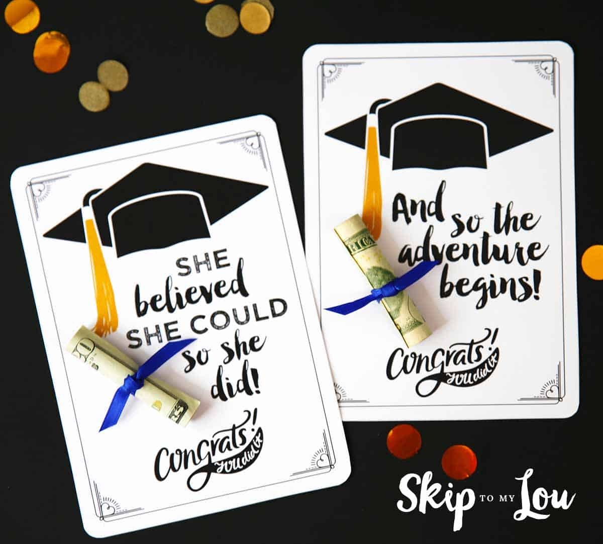 Free Graduation Cards With Positive Quotes And Cash! - Graduation Cards Free Printable Funny