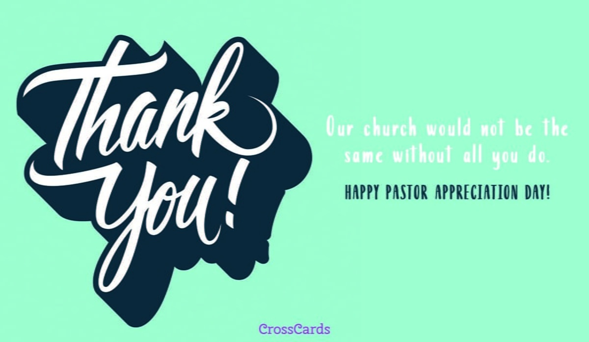 Free Happy Clergy Appreciation Day! Ecard - Email Free Personalized - Pastor Appreciation Cards Free Printable