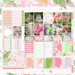Free Hello Spring Printable Planner Stickers For The Erin Condren   Printable Erin Condren Stickers Free