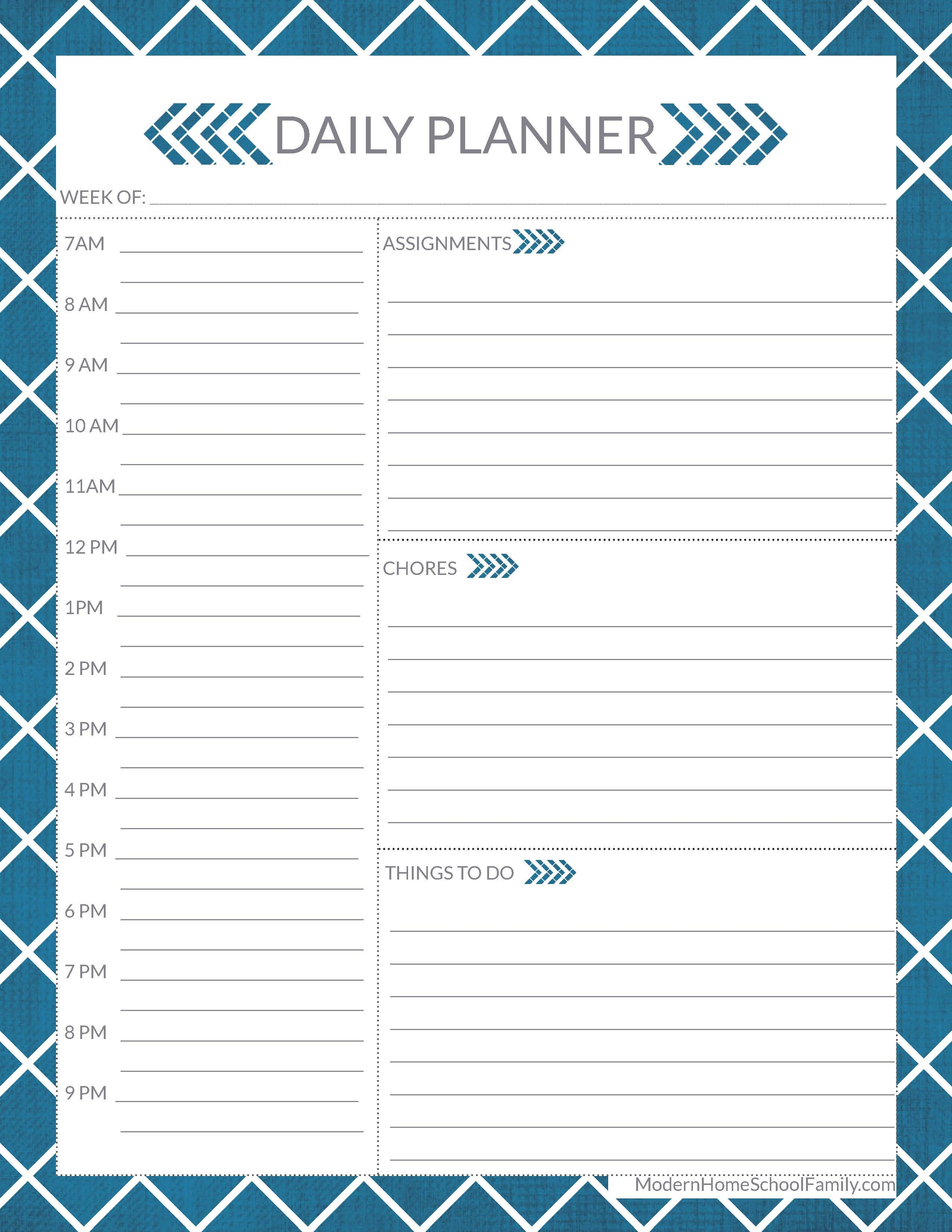Free Homeschool Planner For High School Page - Modern Homeschool Family - Free Printable Worksheets For Highschool Students
