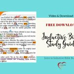 Free Inductive Bible Study Guide – Bible Journal Love   Free Printable Bible Study Guides