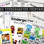 Free Kindergarten Activities And Worksheets   Simply Kinder   Free Printable Classroom Worksheets