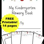 Free Kindergarten Memory Book (Homeschool Edition | Best Of Mrs   Free Printable Leveled Readers For Kindergarten