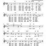 Free Lead Sheet – Were You There In 2019 | Gospel Music | Lead Sheet – Free Printable Sheet Music Lyrics