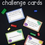 Free Lego Challenge Printable Stem Activities | Fun Ideas For Kids   Free Printable Kindergarten Task Cards