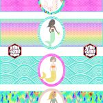 Free Mermaid Birthday Party Printables | Party Printables | Mermaid   Free Printable Little Mermaid Birthday Banner