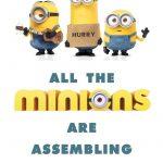 Free Minion Movie Printable Party Decoration Pack! #minions   Mrs   Thanks A Minion Free Printable