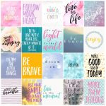 Free Motivational Printable Planner Stickers   Love Paper Crafts   Free Printable Stickers