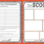 Free Newspaper Template For Kids Printable | School Ideas   Free Printable Newspaper Templates For Students