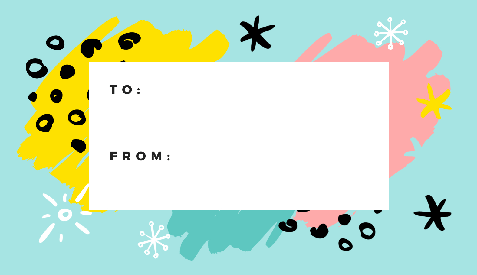 Free Online Gift Tags Maker: Design A Custom Gift Tag - Canva - Free Printable Gift Tags Personalized