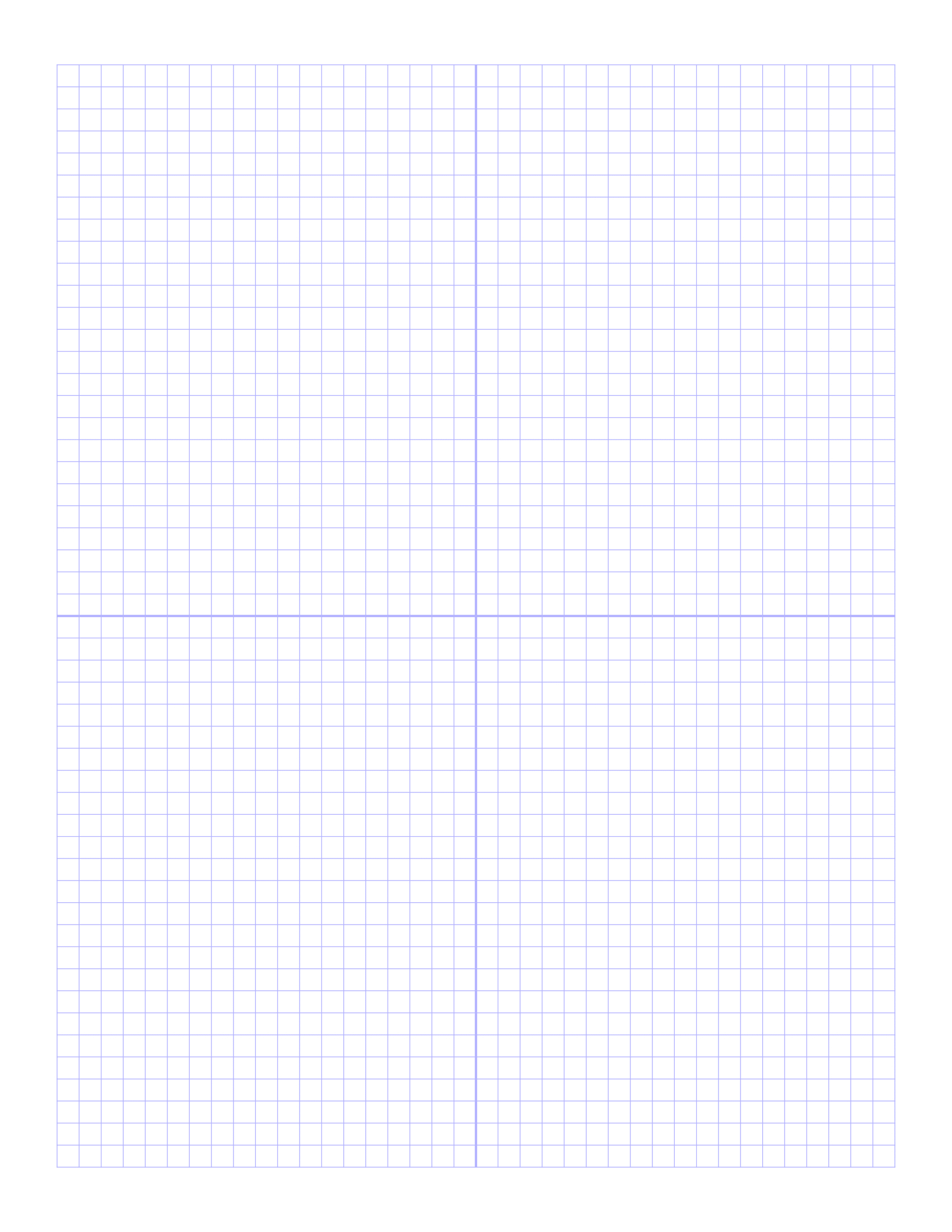 Free Online Graph Paper / Plain - Free Printable Graph Paper For Elementary Students