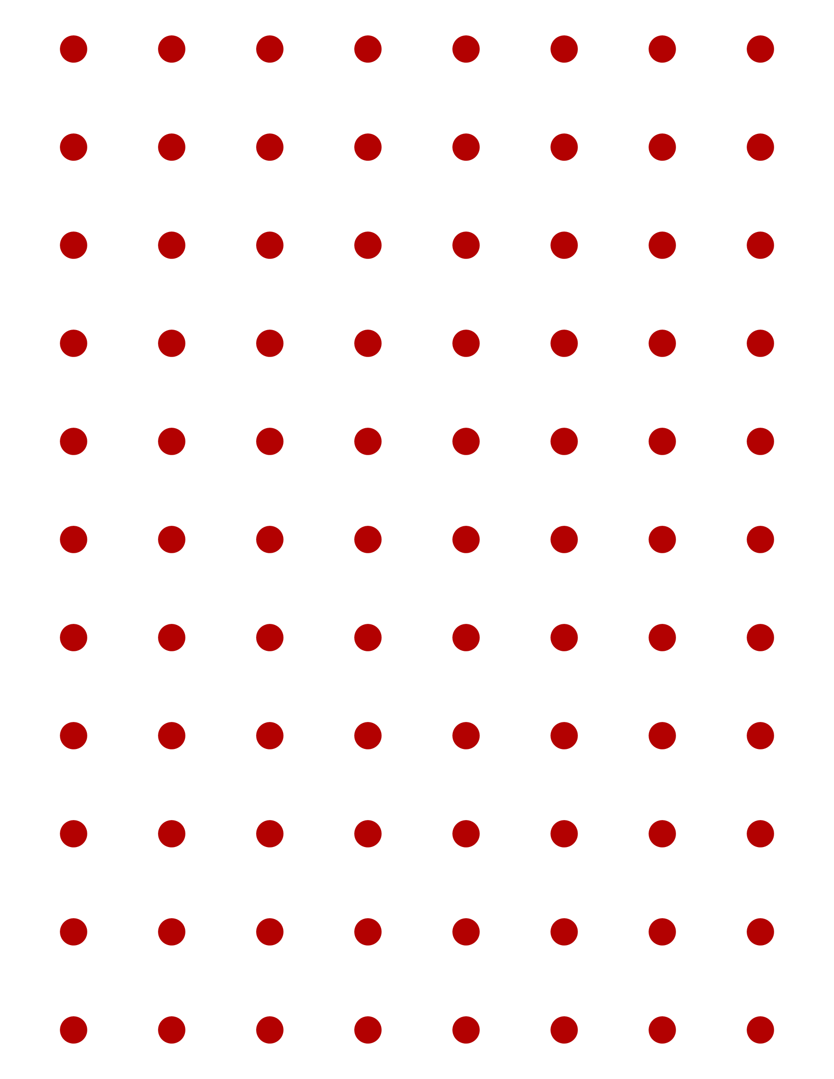 Free Online Graph Paper / Square Dots - Free Printable Square Dot Paper