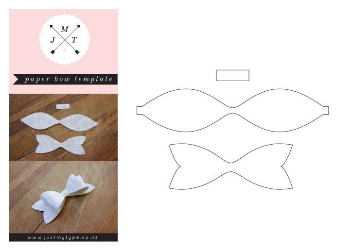 Free Bow Tie Template Printable