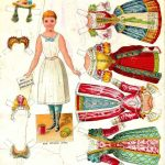 Free Paper Dolls Cutest Vintage Paper Dolls 2 Of Be Happy To Know A   Free Printable Paper Dolls From Around The World