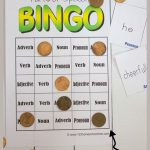 Free Parts Of Speech Game | Education | Parts Of Speech Games, Parts   Free Printable Parts Of Speech Bingo