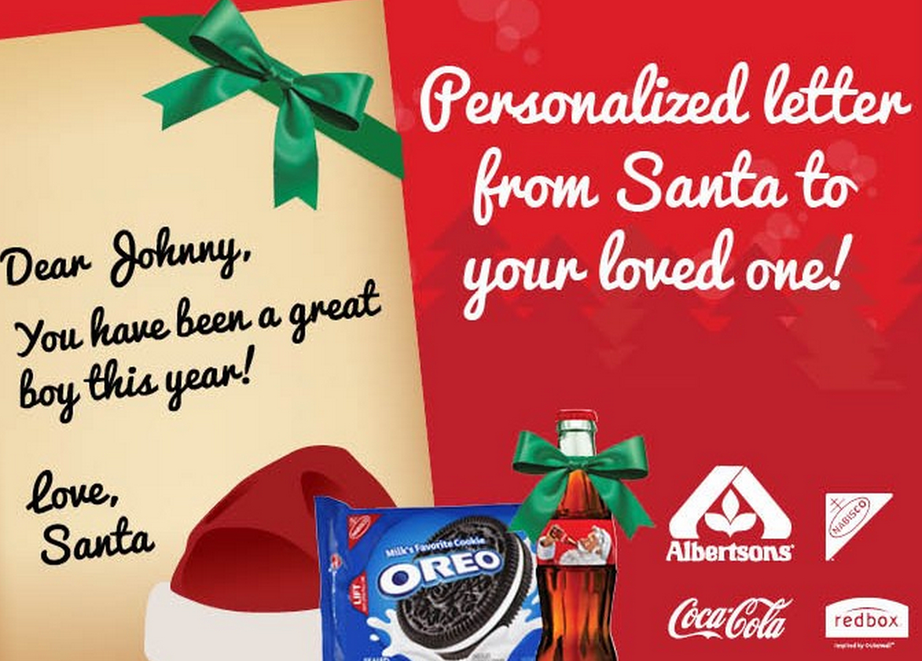 Free Personalized Letter From Santa Claus + Redbox Offer & Printable - Free Printable Coupons For Coca Cola Products