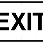 Free Pictures Of Exit Signs, Download Free Clip Art, Free Clip Art   Free Printable No Exit Signs