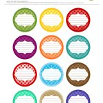 Free Printable| 12 Canning Jar Labels} Freebie@apple Ratana   Free Printable Mason Jar Labels