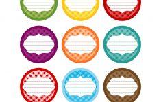 Free Printable| 12 Canning Jar Labels} Freebie@apple Ratana – Free Printable Mason Jar Labels