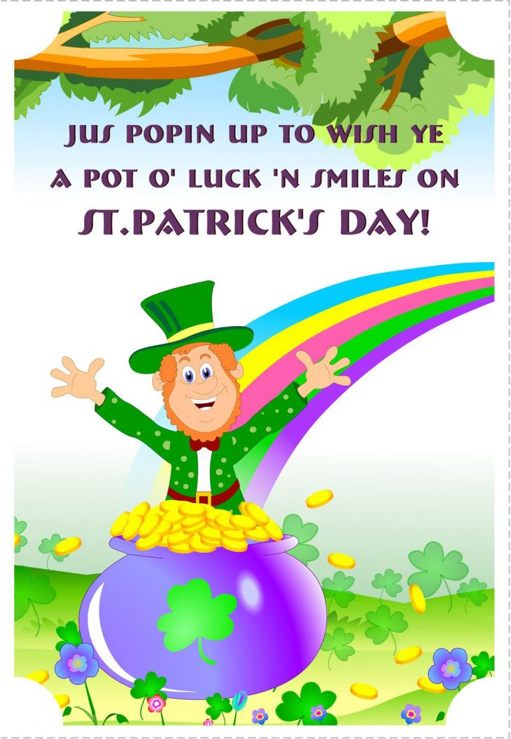Free Printable St Patrick's Day Card