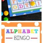 Free Printable Alphabet Bingo Game   Free Printable Alphabet Games
