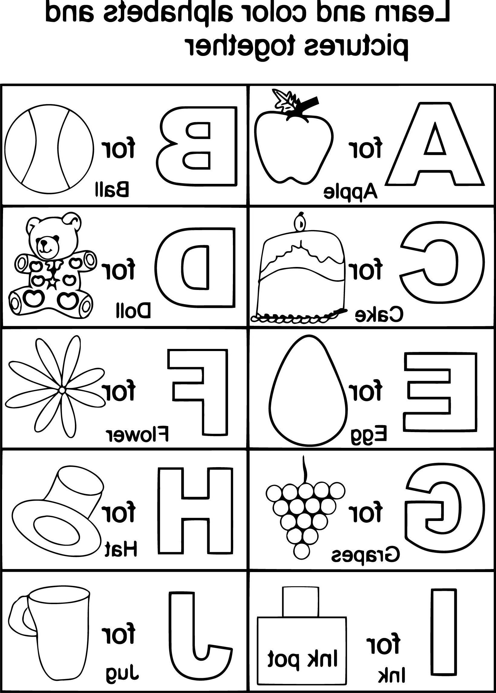 Free Printable Alphabet Coloring Pages | Coloring Page | Alphabet - Free Printable Alphabet Coloring Pages